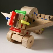 Wooden toys, 1993-1996